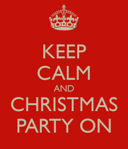 First Christmas Party of the Season…