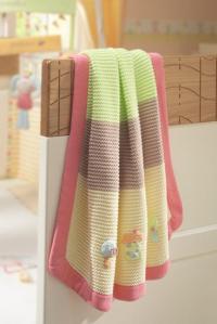 Knitted blanket, 70x90cm