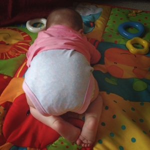 Trying to crawl is too much!