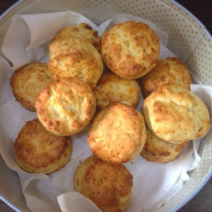 Wednesday- Homemade Cheese Scones